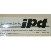 Sticker IPD Suspension